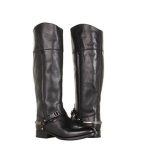NEW • Frye • Lindsay Spur Leather Boots Knee High